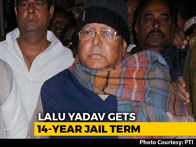 Video : Fear For His Life, Says Son Tejashwi Yadav As Lalu Gets Huge Jail Term