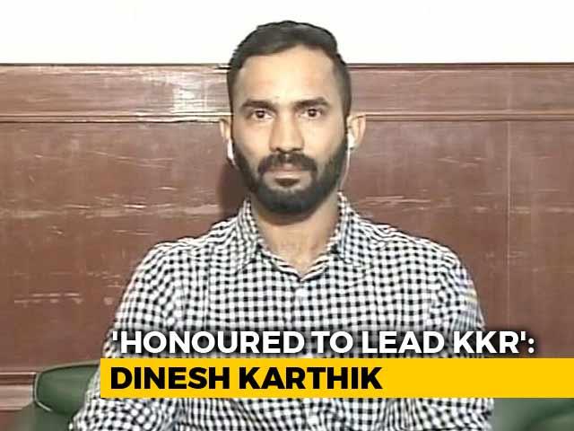 Honoured To Take Over As KKR Captain From Gautam Gambhir: Dinesh Karthik