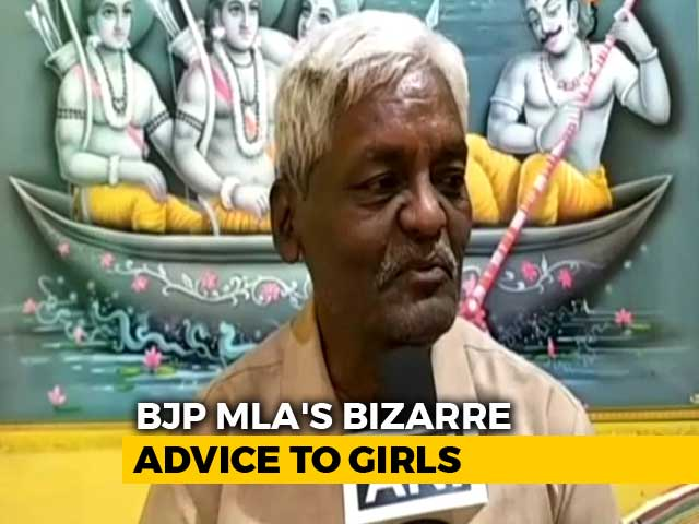 Video : 'Don't Make Boyfriends': BJP Lawmaker's Advice For Girls