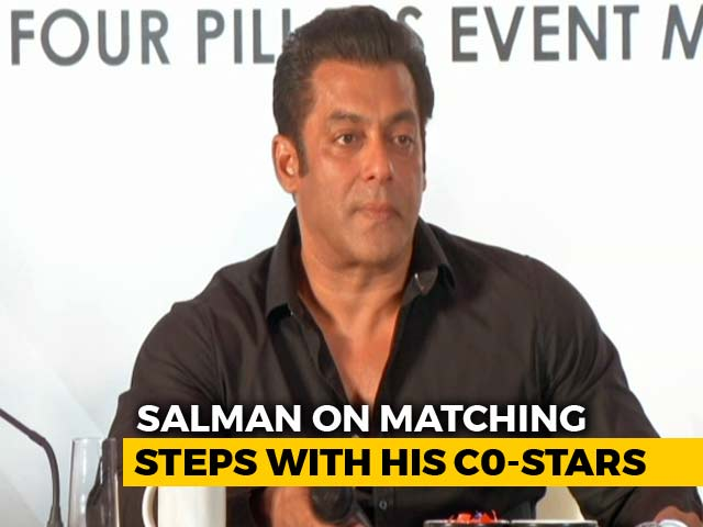 Salman Khan On Matching Steps With His Leading Ladies On The Da-Bangg Tour