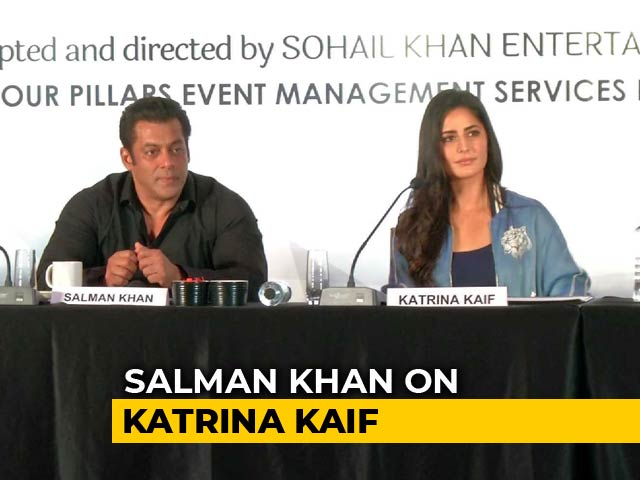 Video : Katrina Kaif Is The Most Hardworking Person I Have Met: Salman Khan