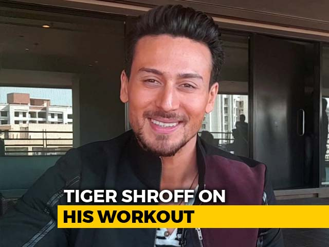 #Just2Questions: Does Tiger Shroff Ever Bunk Gym?