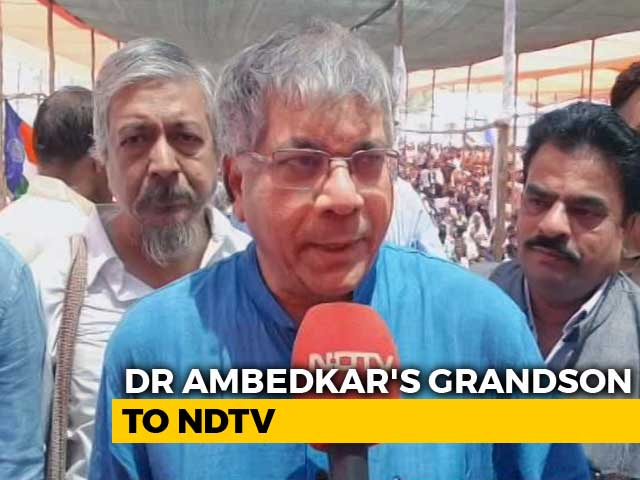 Video : Prakash Ambedkar Leads Rally To Seek Arrest Of Bhima-Koregaon Accused