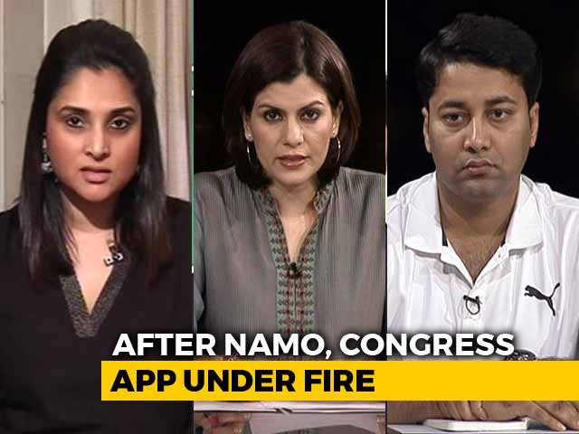 Video : Blame Game Between Congress And BJP On Data Privacy