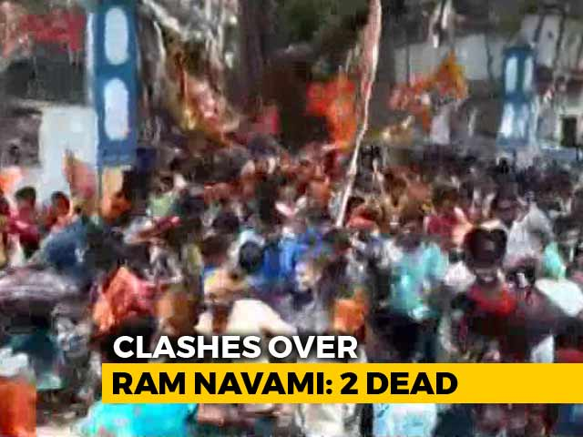 Video : 2 Killed In Clashes During Ram Navami Celebrations In Bengal