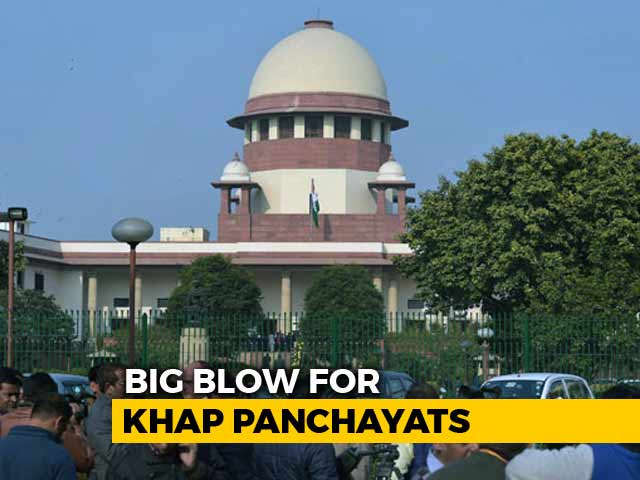 """Video : """"Khap Panchayats"""" Stopping Marriages Is Illegal, Top Court Issues Rules"""