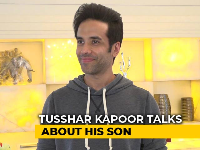 Doting Dad Tusshar Kapoor Talks About His Son Lakshya