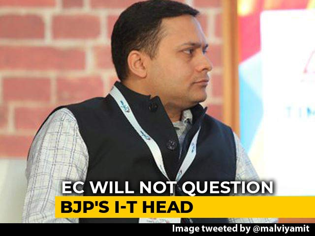 Video : Karnataka Date Leak: Only Congress, Not BJP's Amit Malviya, To Be Questioned
