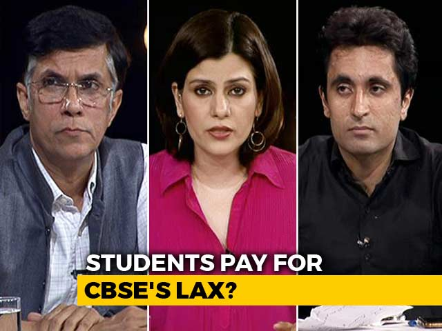 Video : Paper Leak: Should Students Be Punished For CBSE's Incompetence?