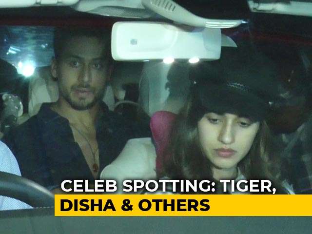 Celeb Spotting: Tiger Shroff, Disha Patani, Farah Khan & Others