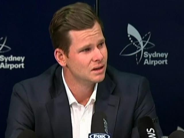 "Video : Ball-Tampering Row: ""Will Regret This All My Life,"" Says Steve Smith"