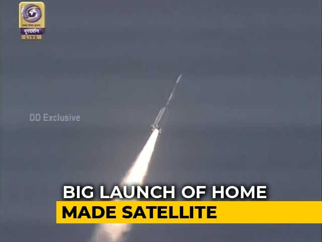 Video : ISRO Launches Home-Made Communications Satellite GSAT-6A