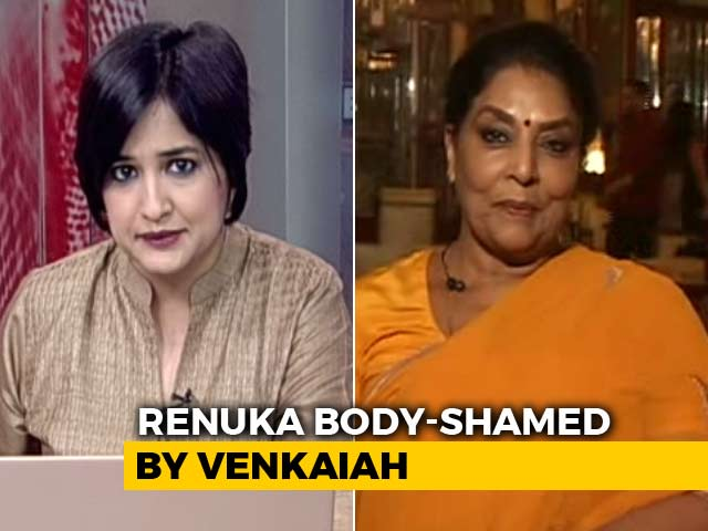 Video : 'Lose Weight...', Venkaiah Naidu Tells Renuka Chowdhury: Banter Or Sexism?