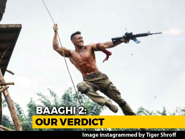 First Impressions Of Tiger Shroff & Disha Patani's Baaghi 2