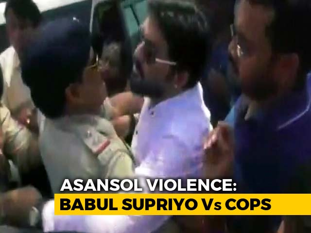 Video : Babul Supriyo Barred From Entering Violence-Hit Asansol, Case Filed
