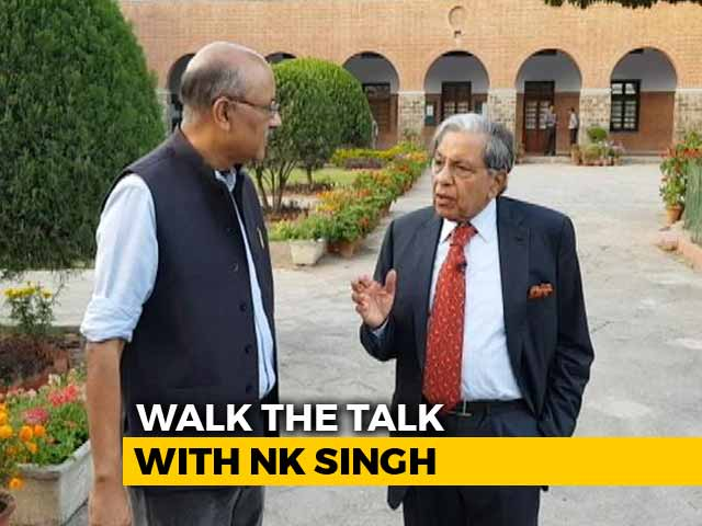 Video : Walk The Talk With NK Singh, 15th Finance Commission Chairman