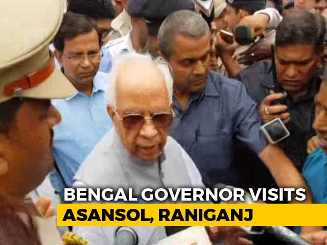 """Video : """"Came With Message of Peace,"""" Says Governor In Tense Asansol"""