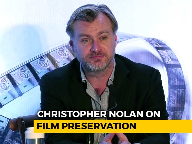 Christopher Nolan Discusses Film Preservation in Mumbai