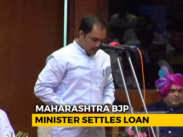 Video : In Maharashtra, Opposition Questions 'Loan Waiver' Given To Minister