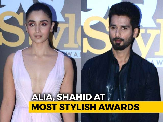 Alia Bhatt, Shahid Kapoor Take Home GQ Style Trophies