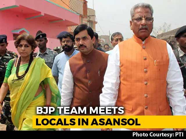 Video : BJP Team Defies Police To Visit Violence-Hit Bengal Town, Blames State