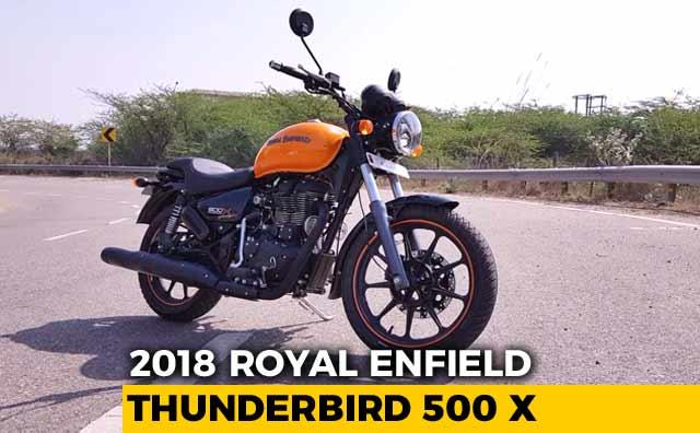 2018 Royal Enfield Thunderbird 500 X Review
