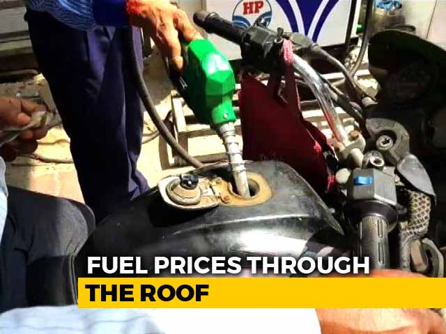 Video : Fuel Prices Touch New Highs: What India Thinks