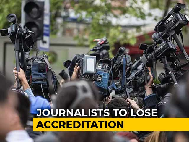 Video : Outrage Over Centre's Rules For Journalists To Check Fake News