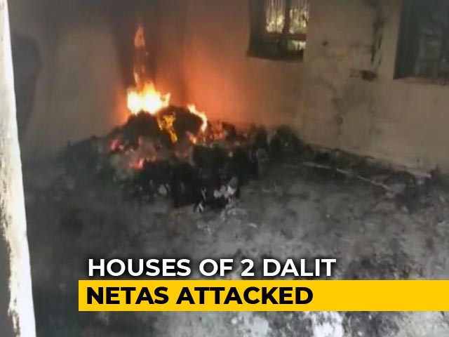 Video : Mob Burns Homes Of 2 Dalit Politicians In Rajasthan, Day After <i>Bharat Bandh</i>