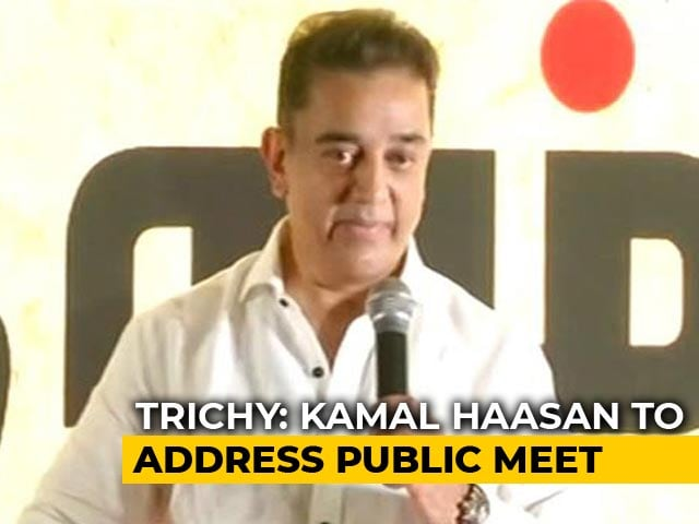 """Video : """"Political Game"""": Kamal Haasan On State's Cauvery Blues Ahead Of Meeting"""