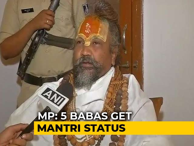 Video : 5 'Minister Babas' Spark Political Row In Madhya Pradesh