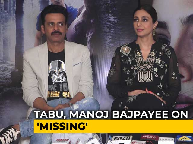 Tabu & Manoj Bajpayee On Their Film Missing