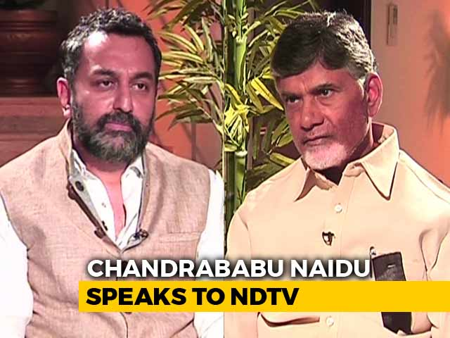 """Video : """"Is This Cooperative Federalism?"""" Chandrababu Naidu On Amit Shah Letter"""