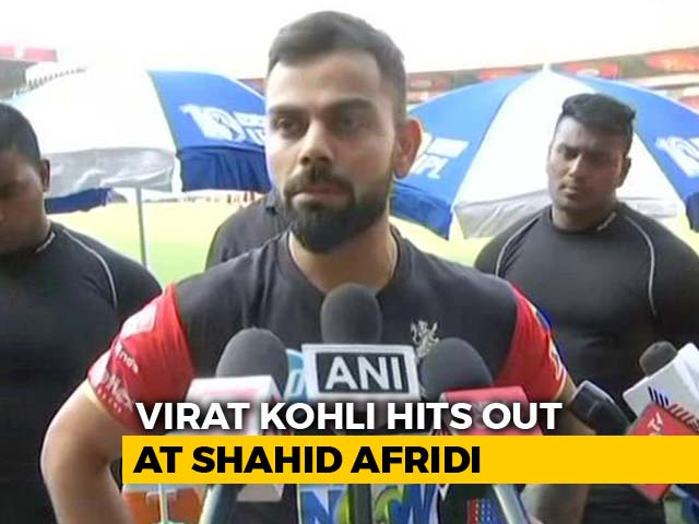 Priority With Nation, Says Virat Kohli On Shahid Afridi