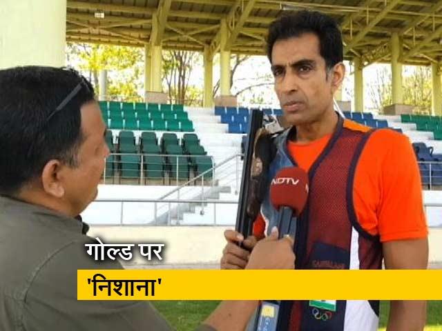 Videos : कॉमनवेल्थ खेलों में हिस्सा लेने से पहले शूटर मानवजीत संधू से खास बातचीत