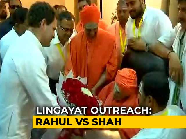 Video : In Poll-Bound Karnataka, Competitive Politics By Congress, BJP Over Lingayats