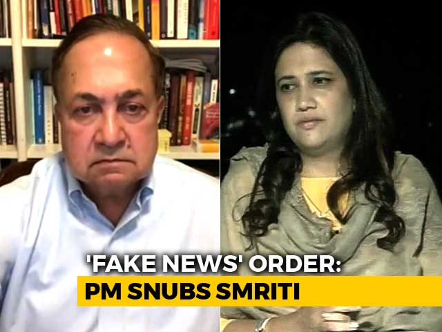 "Video : ""Won't Resign, Am Not Arvind Kejriwal"": The Big 'Fake News' Debate"