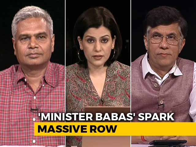 Video : 'Babas' Made Ministers In Madhya Pradesh: Saffron Surge Ahead Of State Polls?