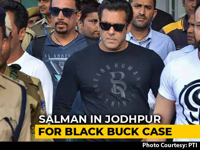Salman Khan, Others In Jodhpur For Tomorrow's Verdict In Black Bucks Case