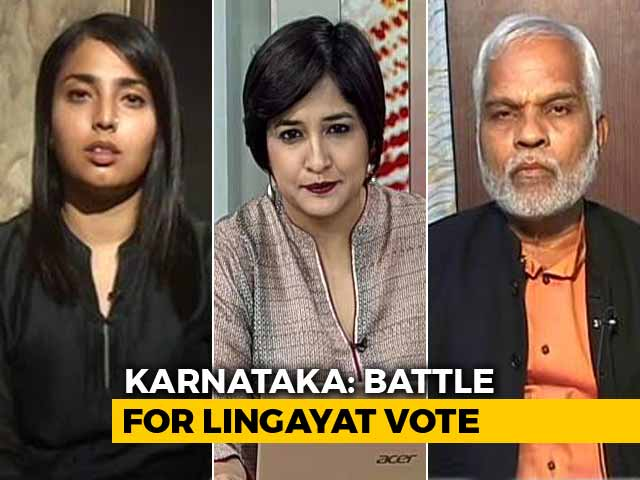 Video : Battle For Lingayat Vote In Karnataka: Will Religious Politics Backfire?