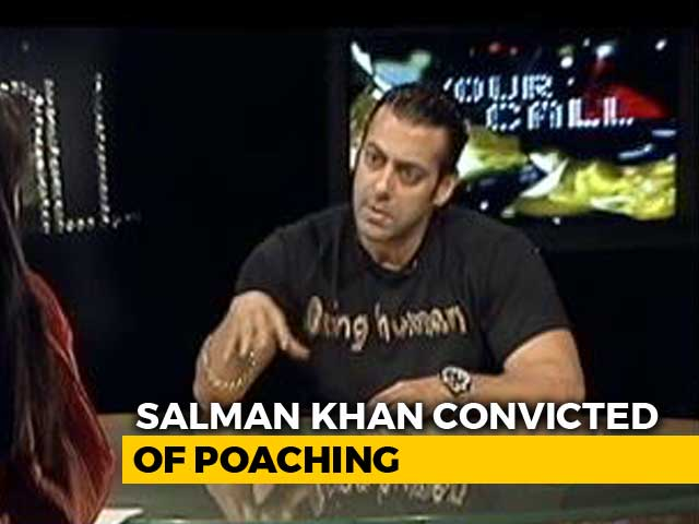 Video : Just Fed The Blackbuck: Salman Khan To NDTV (Aired In 2009)