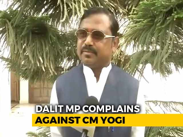 "Video : ""Yogi Adityanath Threw Me Out"": Dalit BJP Lawmaker Complains To PM Modi"