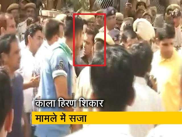 Videos : जोधपुर जेल में ही कटेगी सलमान खान की रात, कल होगी बेल पर सुनवाई