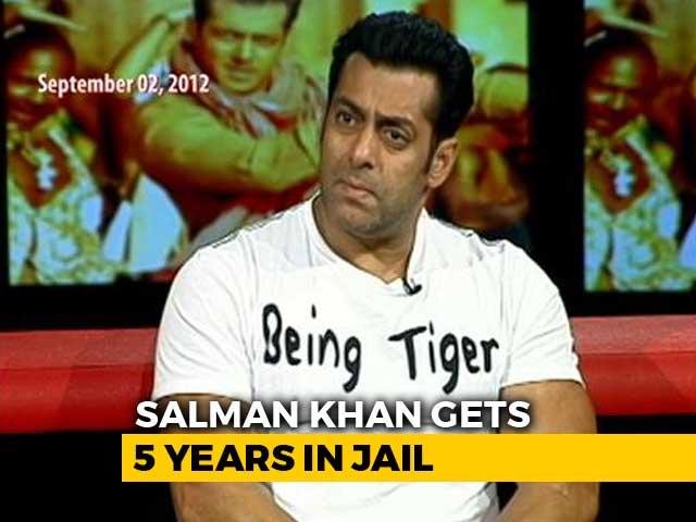 "Video : ""Only A Dabangg Judge Can Set Me Free"": Salman Khan To NDTV (Aired: September 2012)"