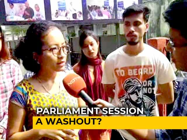 Video : Parliament Wash-Out A Major Loss For Young India, Say Students