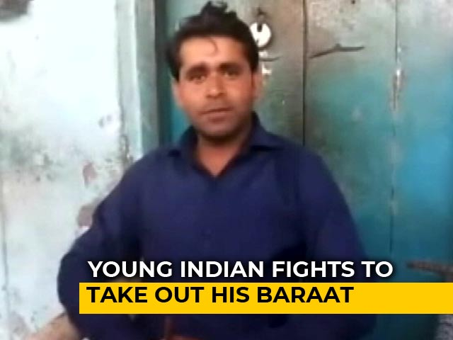 Video : In Dalit Man's Fight For His <i>Baraat</i>, Top UP Official Says, 'Not Possible'