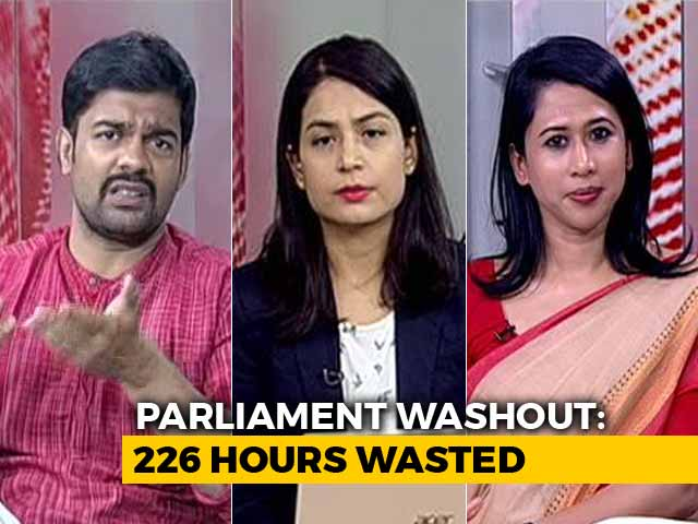 Video : Parliament Wash-out: Who's Responsible?