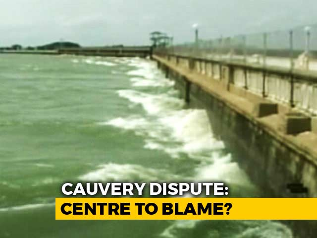 Video : Cauvery Water Row: Polls More Important Than People?