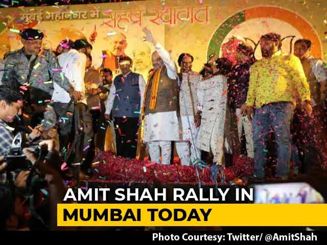 Video : Ahead Of BJP's Mega Celebration, Massive Traffic Jams In Mumbai