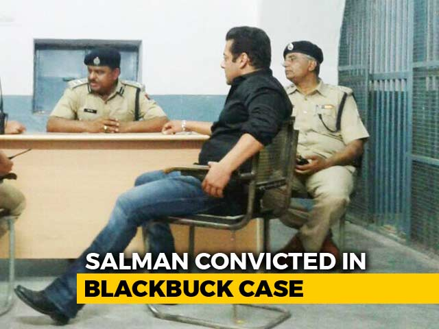 Video : Salman Khan To Spend 2nd Night In Jail, Bail Hearing Tomorrow
